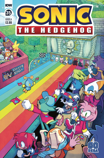 IDW Sonic The Hedgehog #35 Comic Book [Cover A]