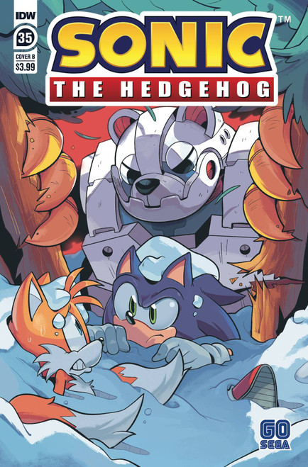 IDW Sonic The Hedgehog #35 Comic Book [Cover B]