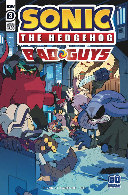 IDW Sonic The Hedgehog Bad Guys #3 of 4 Comic Book [Cover A]