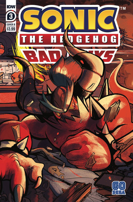 IDW Sonic The Hedgehog Bad Guys #3 of 4 Comic Book [Cover B]