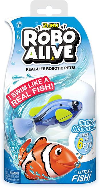 Robo Alive Little Fish Blue Tang Robotic Pet Figure