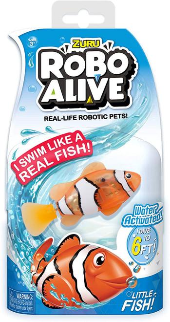 Robo Alive Little Fish Clownfish Robotic Pet Figure