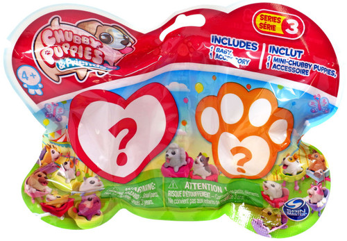 Series 3 Chubby Puppies & Friends Mystery Pack