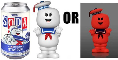 Funko Ghostbusters Vinyl Soda Stay-Puft Limited Edition of 15,000! Vinyl Figure [1 RANDOM Figure! Look For The Rare Chase!] (Pre-Order ships January)
