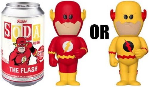 Funko DC Vinyl Soda The Flash Limited Edition of 15,000! Vinyl Figure [1 RANDOM Figure Look For The Rare Chase!]