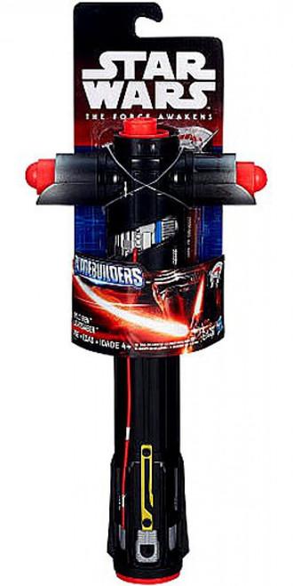 Star Wars The Force Awakens Bladebuilders Kylo Ren Lightsaber Roleplay Toy [Loose]