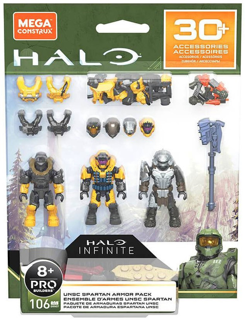 Halo UNSC Spartan Armor Pack Set