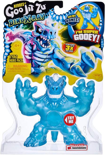 Heroes of Goo Jit Zu Dino X-Ray (Series 4) Tyro the T-Rex Action Figure