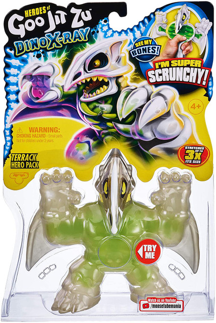 Heroes of Goo Jit Zu Dino X-Ray (Series 4) Terrack the Pterodactyl Action Figure