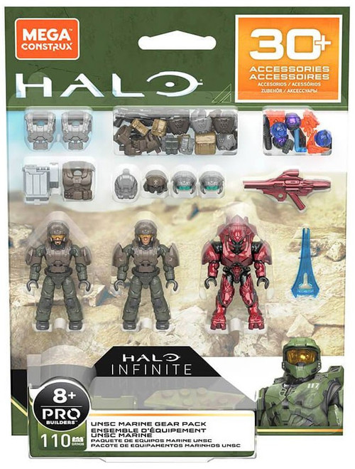 Halo UNSC Marine Gear Pack Set