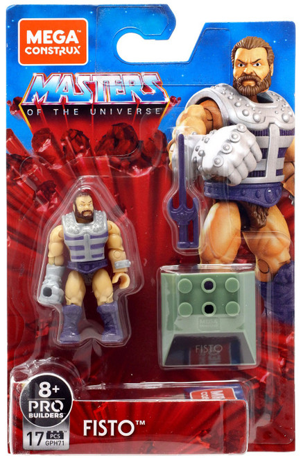 Mega Construx Masters of the Universe Heroes Fisto Mini Figure