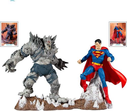 McFarlane Toys DC Multiverse Superman vs Devastator Action Figure 2-Pack