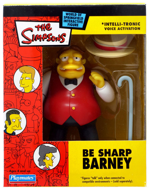 The Simpsons Barney Exclusive Action Figure [Be Sharp]