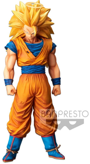 Dragon Ball Z Grandista Nero Super Siayan 3 Goku 11-Inch Collectible PVC Figure [with Halo]