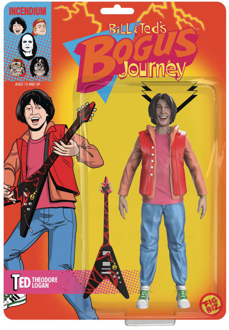 """FigBiz Bill & Ted's Bogus Journey Ted """"Theodore"""" Logan Action Figure (Pre-Order ships July)"""