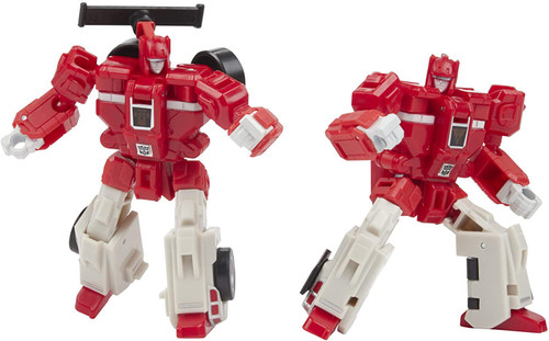Transformers Generations War for Cybertron Galactic Odyssey Collection Biosfera Autobot Clones Exclusive Deluxe Action Figure 2-Pack [Fastlane & Cloudrake]