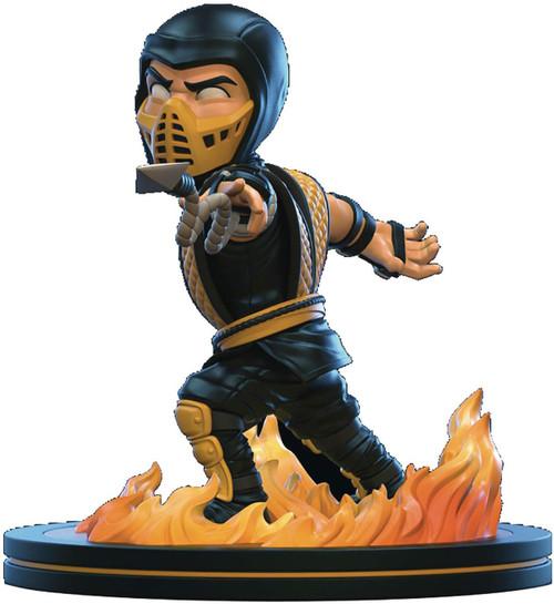 Mortal Kombat Q-Fig Scorpion 4-Inch Diorama Figure (Pre-Order ships June)