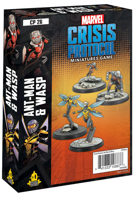 Marvel Crisis Protocol Ant Man & Wasp Character Pack