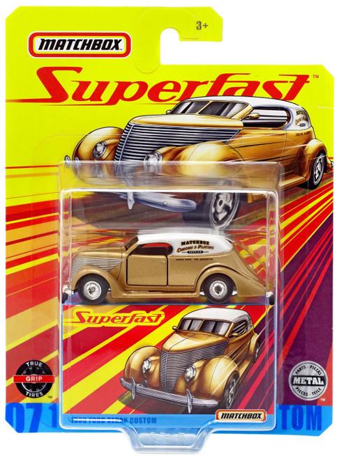 Matchbox Superfast 1936 Ford Sedan Custom Diecast Vehicle #07