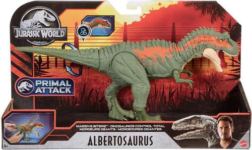 Jurassic World Fallen Kingdom Primal Attack Albertosaurus Action Figure [Massive Biter]