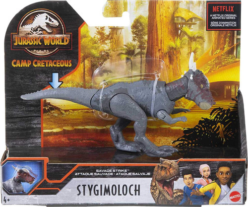 Jurassic World Camp Cretaceous Stygimoloch Action Figure [Savage Strike] (Pre-Order ships March)