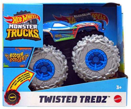 Hot Wheels Monster Trucks Twisted Tredz Rodger Dodger Vehicle