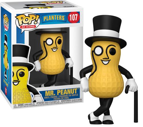 Funko Planters POP! Ad Icons Mr. Peanut Vinyl Figure #107