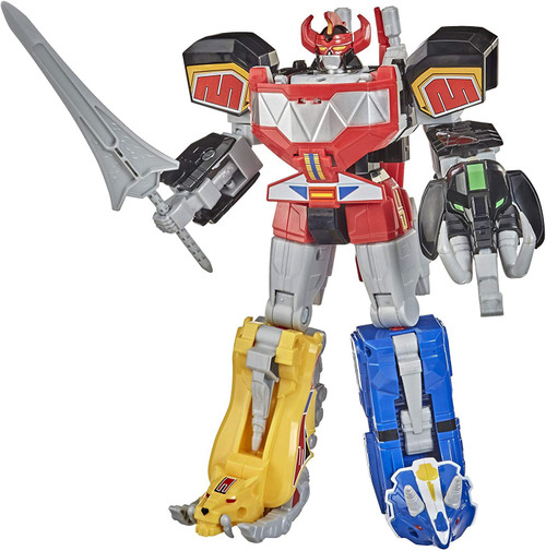 Power Rangers Mighty Morphin Dino Megazord Megapack Exclusive Action Figure [Includes 5 MMPR Dinozords!]