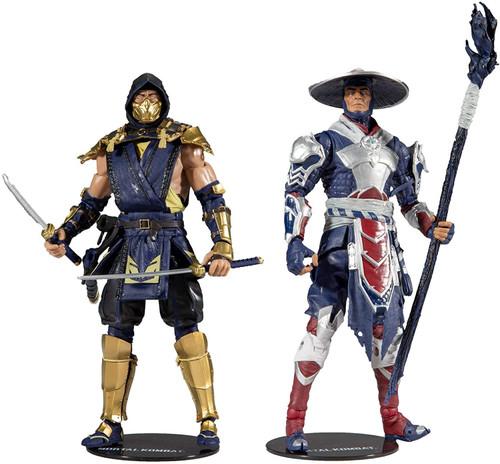 McFarlane Toys Mortal Kombat Scorpion & Raiden Action Figure 2-Pack
