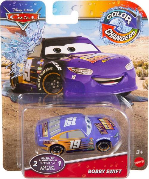 Disney / Pixar Cars Cars 3 Color Changers Bobby Swift Diecast Car