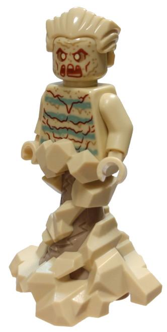 LEGO Marvel Super Heroes Spider-Man Sandman Minifigure [Swirling Base Loose]