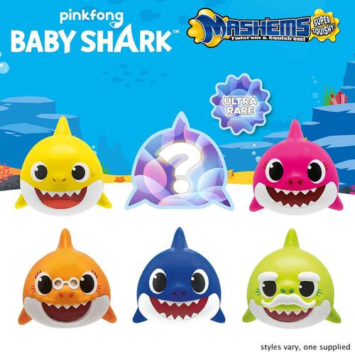 Mash'Ems Series 1 Baby Shark Mystery Box [20 Packs]