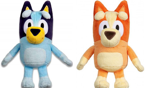 Bluey & Bingo 8-Inch Set of 2 Plush