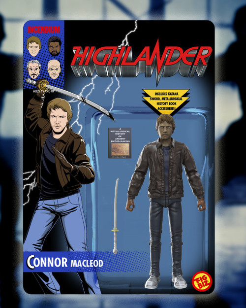 Highlander Connor MacLeod Action Figure (Pre-Order ships August)