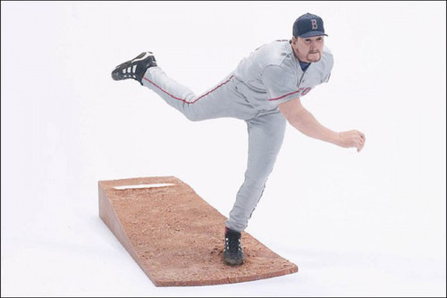 McFarlane Toys MLB Boston Red Sox Sports Picks Series 5 Derek Lowe Action Figure [Grey Uniform]