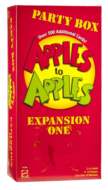 Apples to Apples Party Box Board Game Expansion [Expansion One]