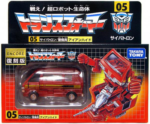 Transformers Japanese Renewal Encore Ironhide Action Figure #05