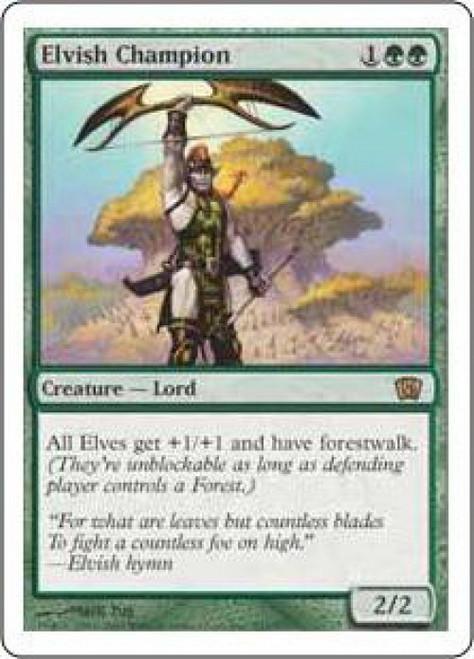 MtG 8th Edition Rare Elvish Champion #241