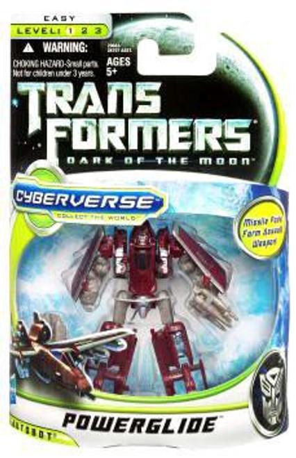 Transformers Dark of the Moon Cyberverse Powerglide Commander Action Figure