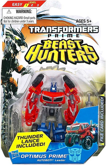 Transformers Beast Hunters Optimus Prime Commander Action Figure