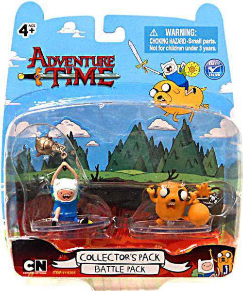 Adventure Time Collector's Pack Battle Pack 2-Inch Mini Figure 2-Pack [Damaged Package]