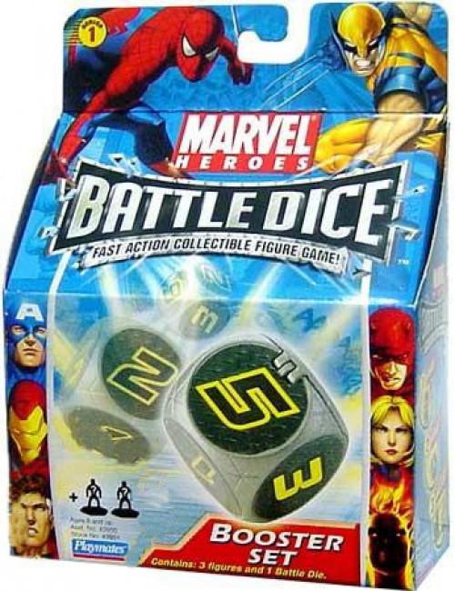Marvel Heroes Battle Dice Booster Set [Damaged Package]