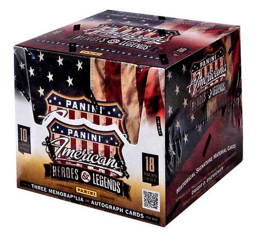 Panini Americana Heroes & Legends Trading Card Hobby Box