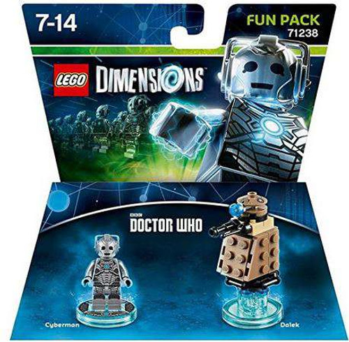 LEGO Dimensions Doctor Who Cyberman & Dalek Fun Pack #71238