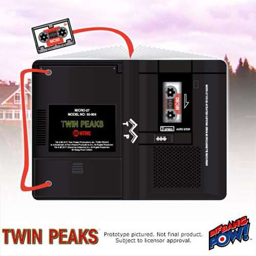 Twin Peaks Microcassette Mini Journal