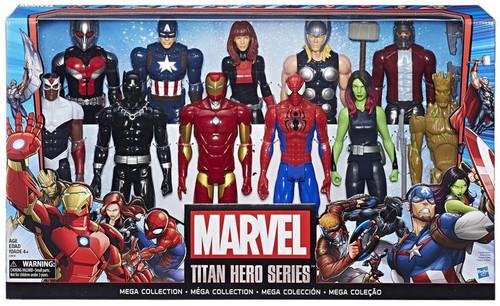 Marvel Titan hero Series Mega Collection Action Figure 11-Pack