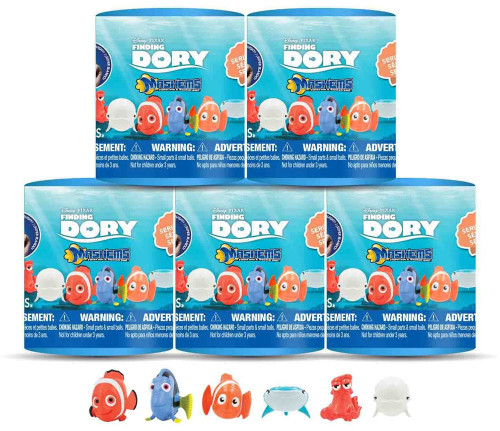 Disney / Pixar Mash'Ems Series 1 Finding Dory Mash'Ems Lot of 5 Mystery Packs