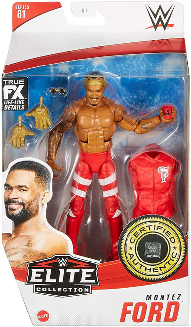 WWE Wrestling Elite Collection Series 81 Montez Ford Action Figure