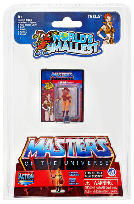 World's Smallest Masters of the Universe Teela 1.25-Inch Micro Figure