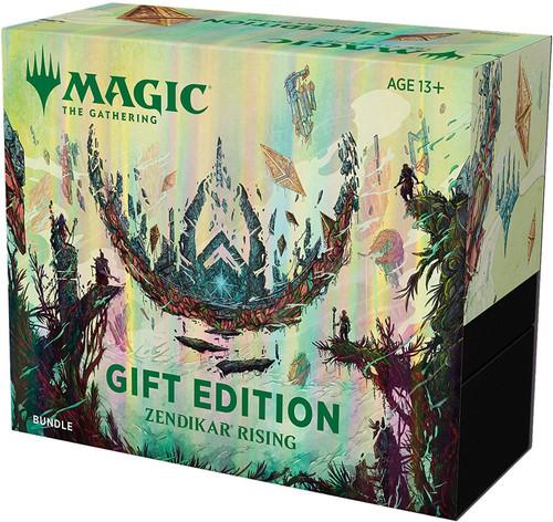 MtG Trading Card Game Zendikar Rising Gift Edition Bundle [Includes 10 Booster Packs!]